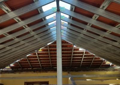 Cobertura sob Estrutura Metálica – Sobreiro, Condeixa