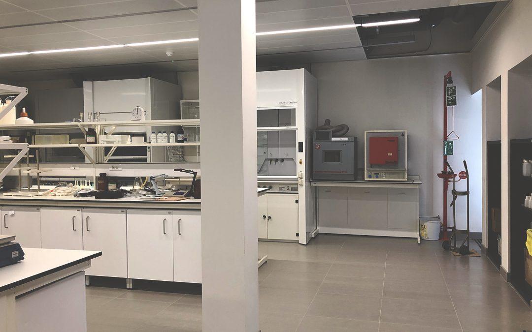 Sistema Exaustão – Laboratório Químico da UC
